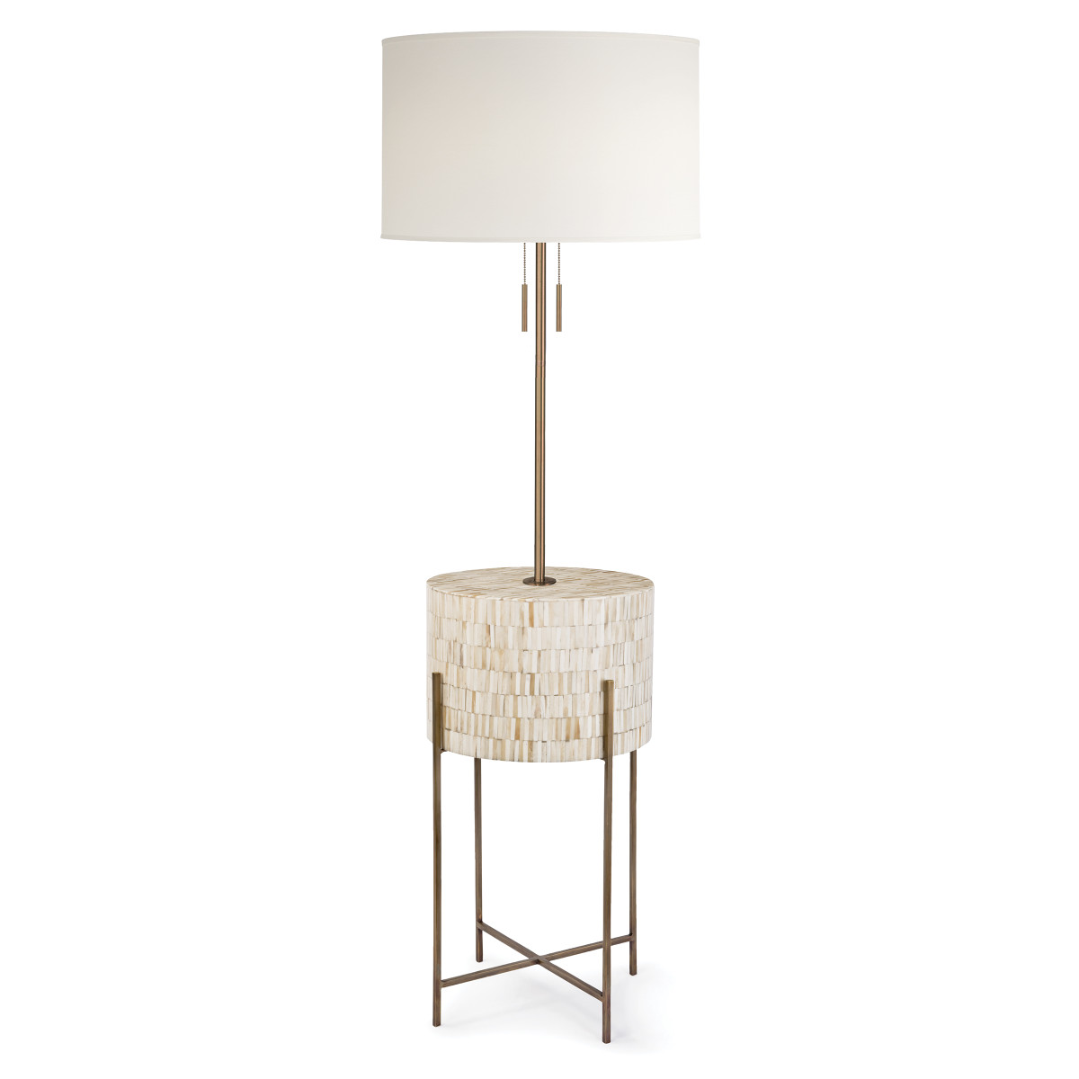 Inlaid Bone Floor Lamp-$1,125.00