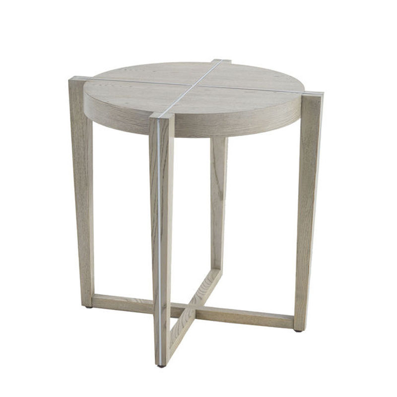 Oak & Iron Side Table-$978.00