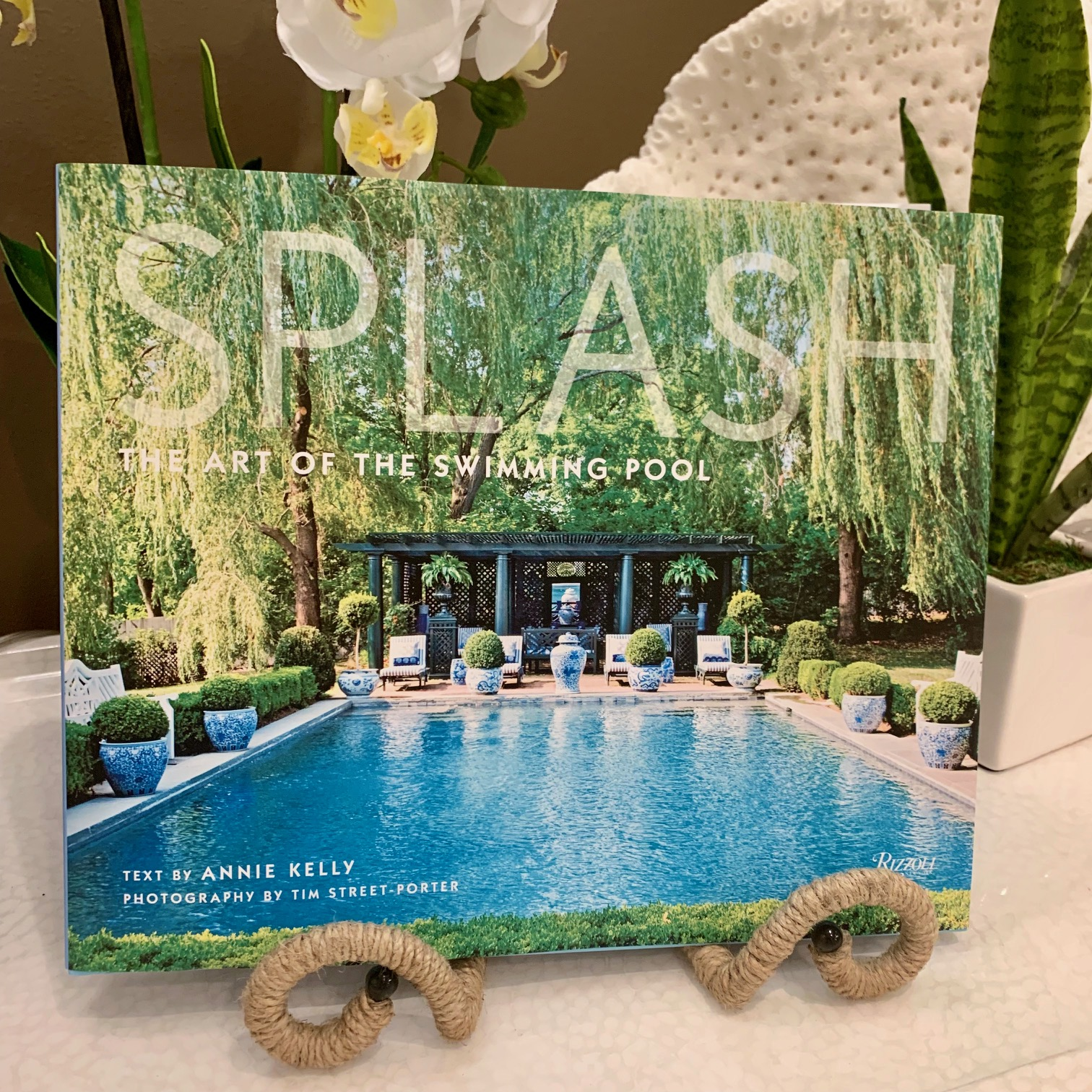 """Splash: the Art of the Swimming Pool"" book"