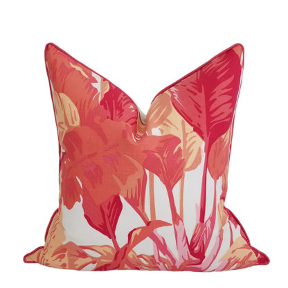 Palm Beach Heliconia Pillow