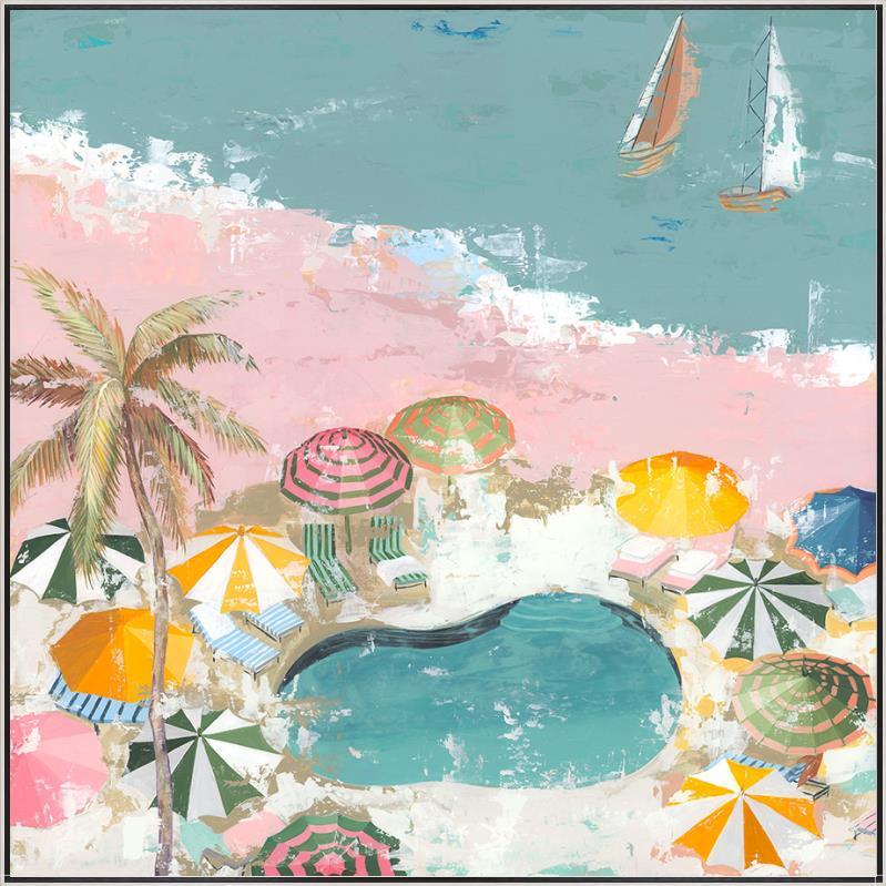 """Pastel Beach I""-$925.00"