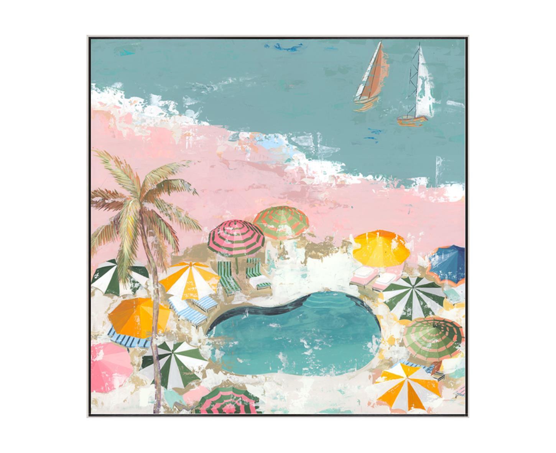 """""""Pastel Beach""""-$925.00"""