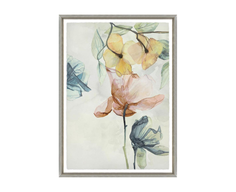 """Translucent Flowers I"""