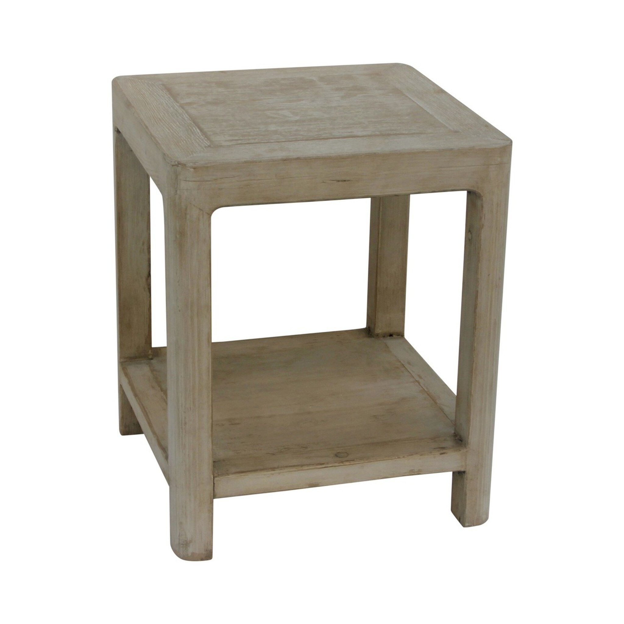 Peking Ming side table with round leg