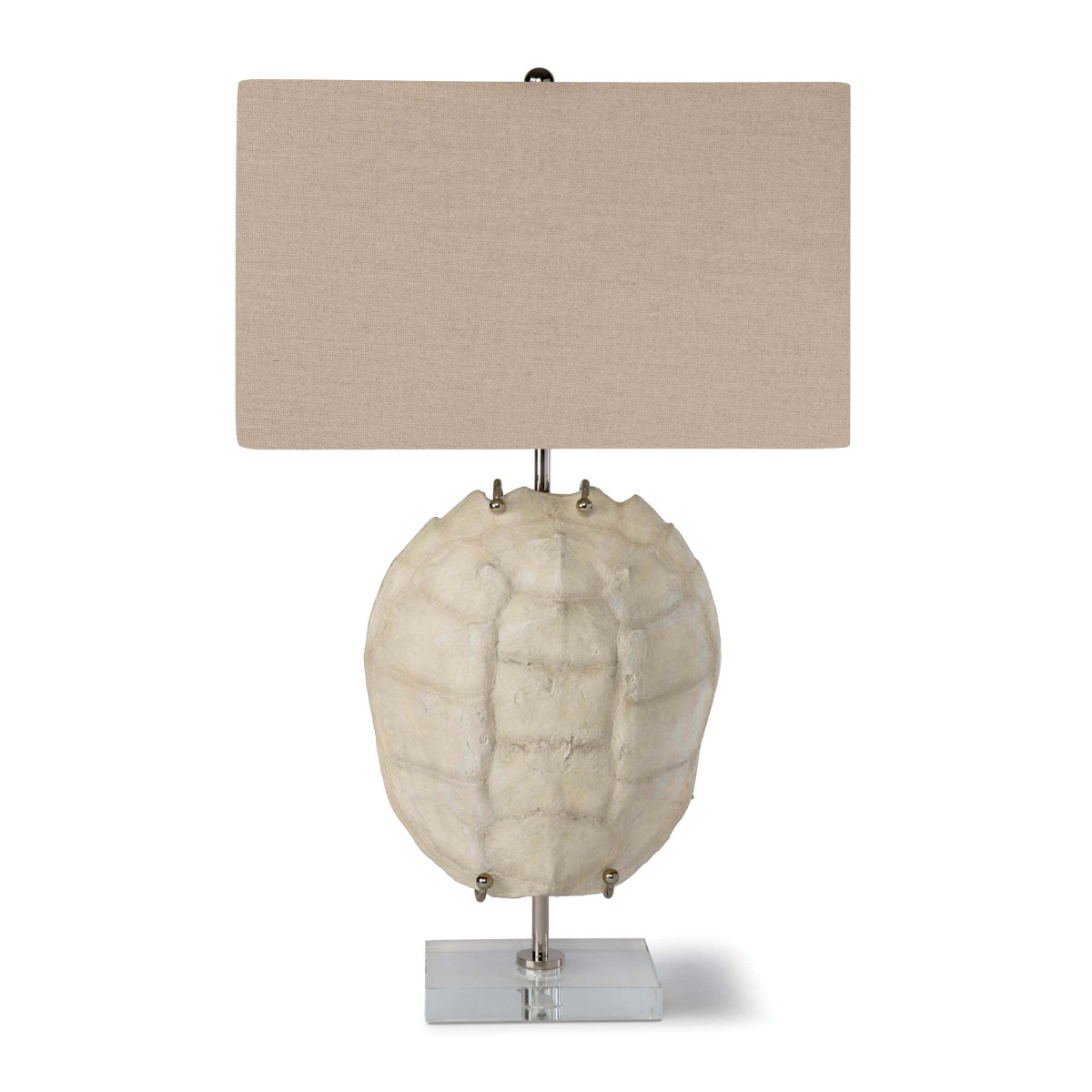 Bleached Shell Lamp