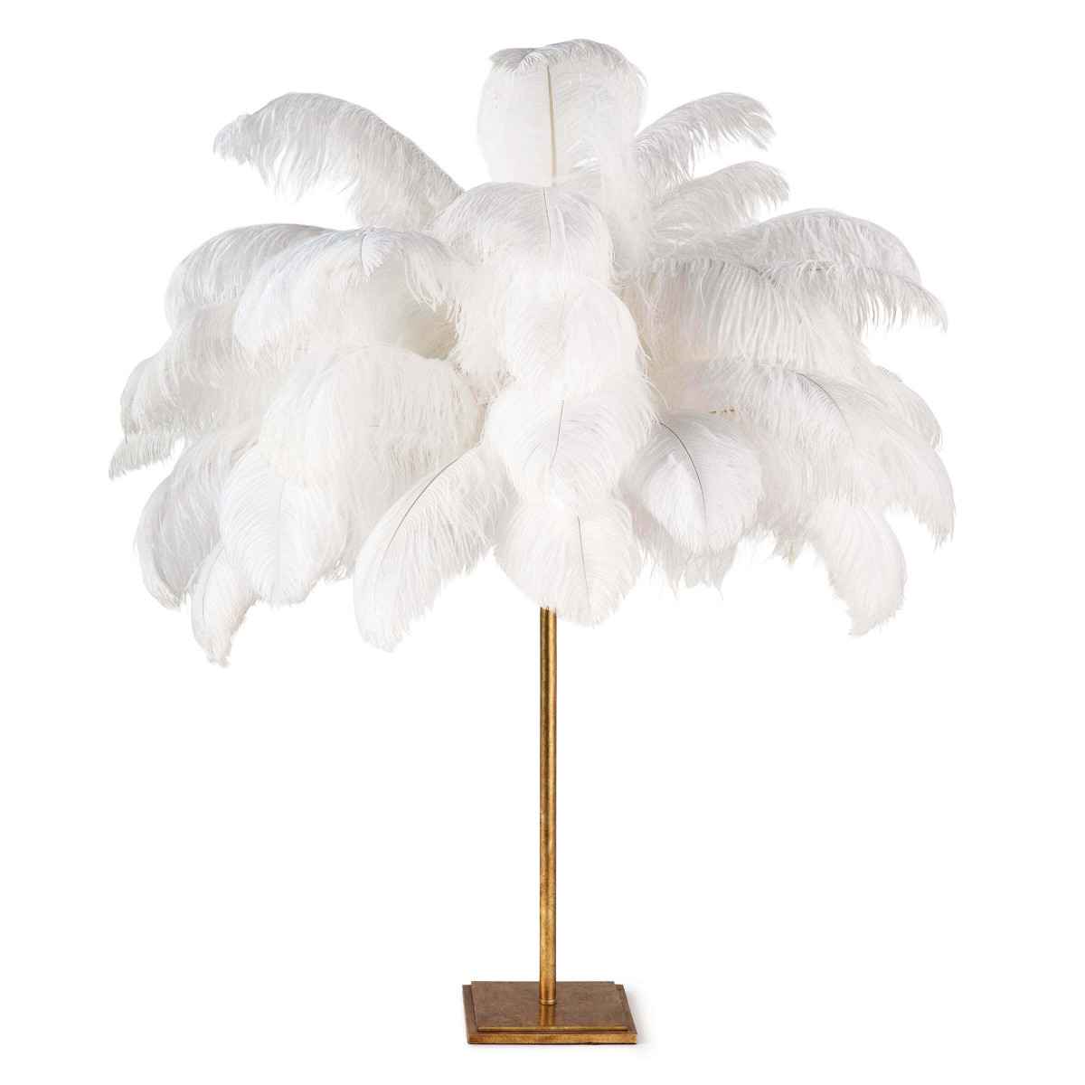 Lisa Feather Lamp-$1,175.00