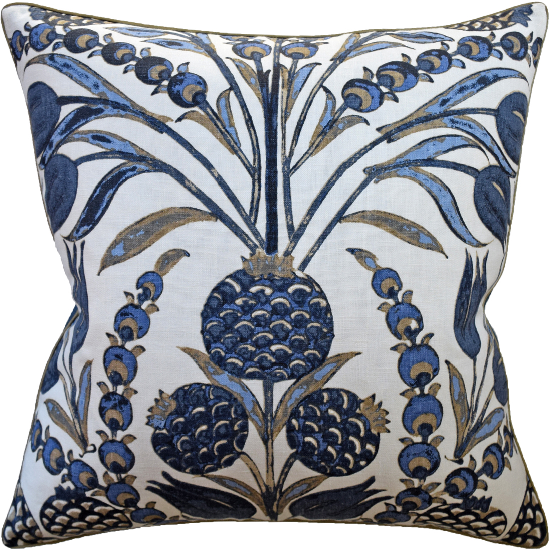 Cornelia Navy Pillow