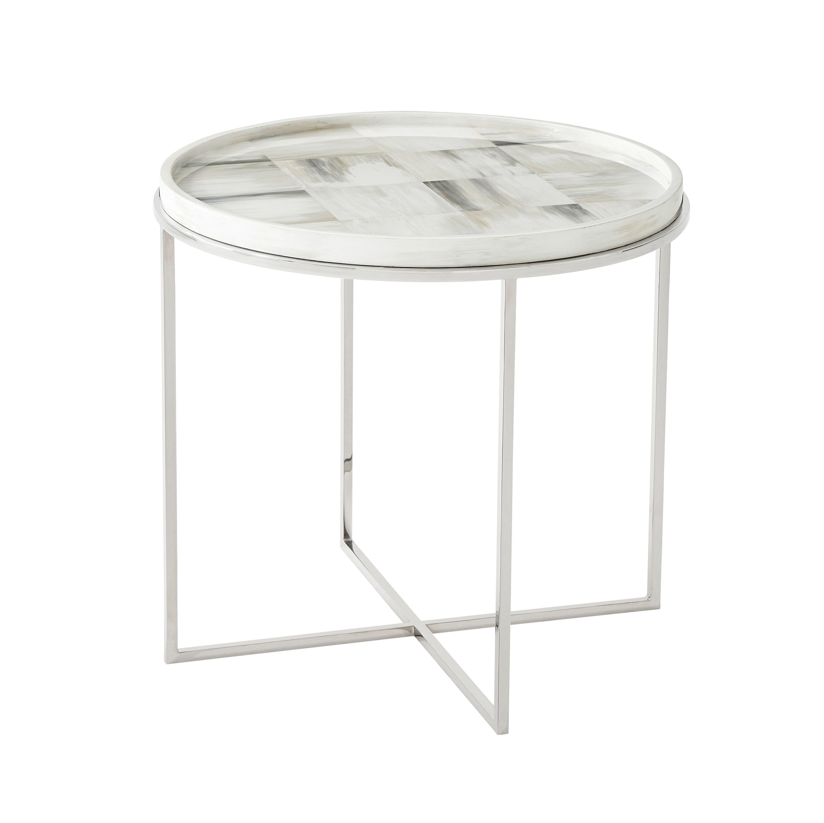 Quadrilaterals (Circular) Side Table
