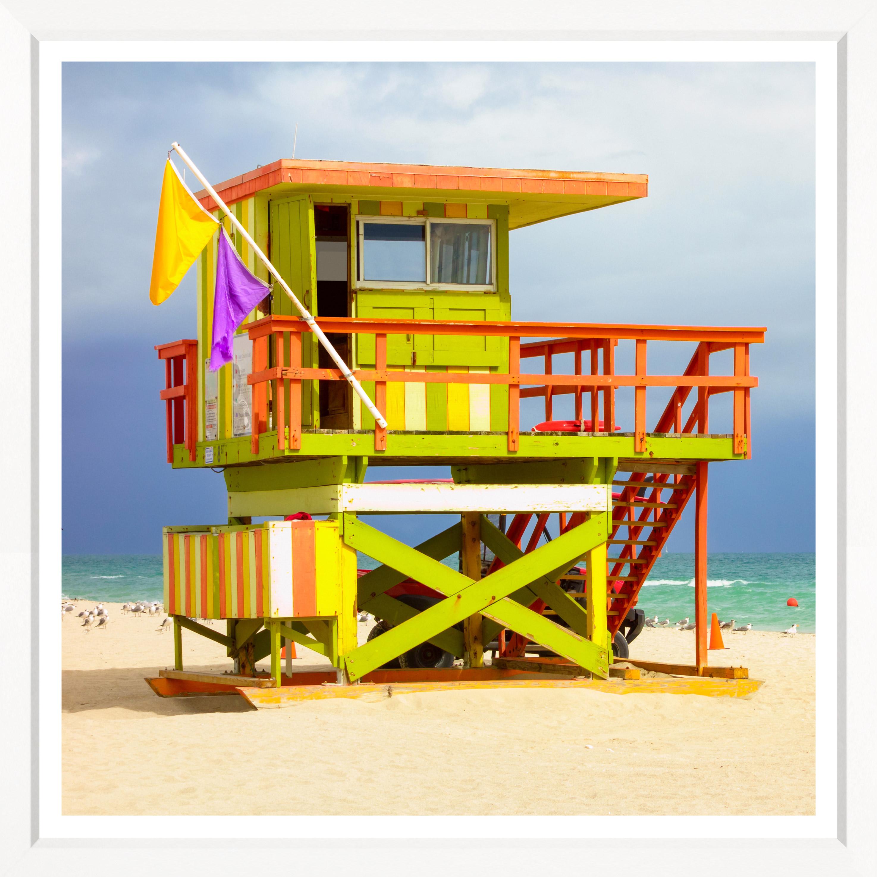 """Miami Beach Lifeguard Towers"""