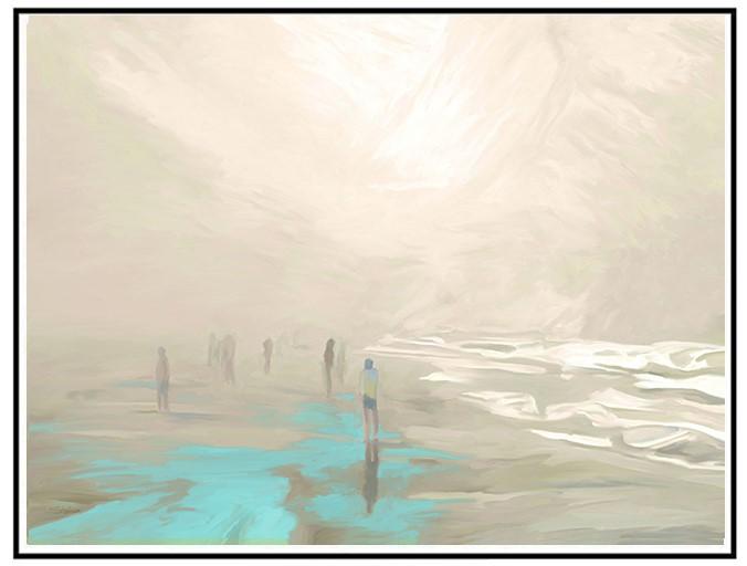 """Early Beach Fog"" by Bob Stedman"