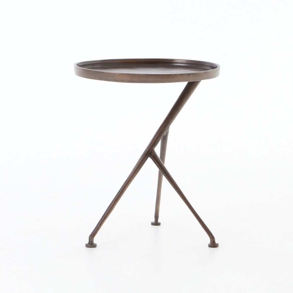 Schmidt Oval Side Table