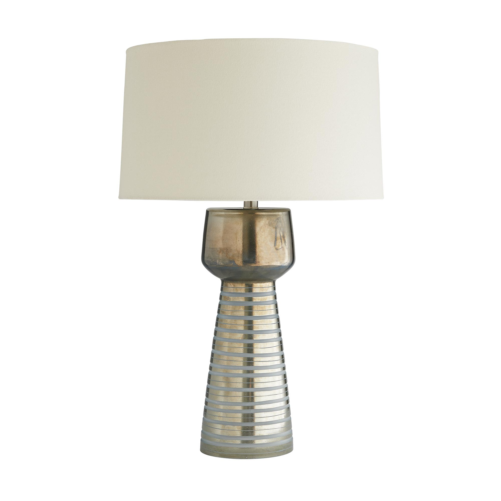 Frosted Stripe Table Lamp-$445.00