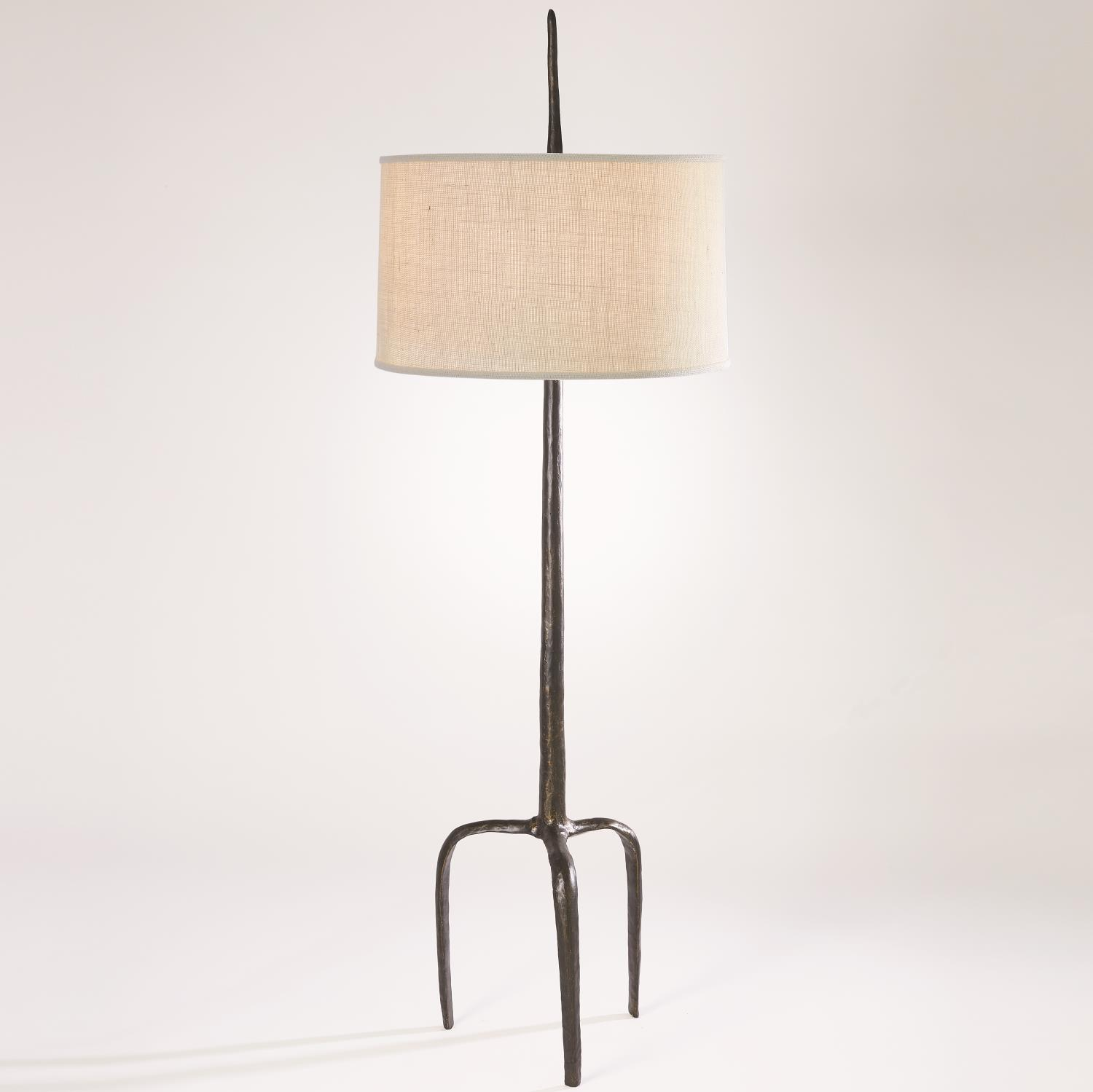 Antique Bronze Ley Floor Lamp-$1,678.00