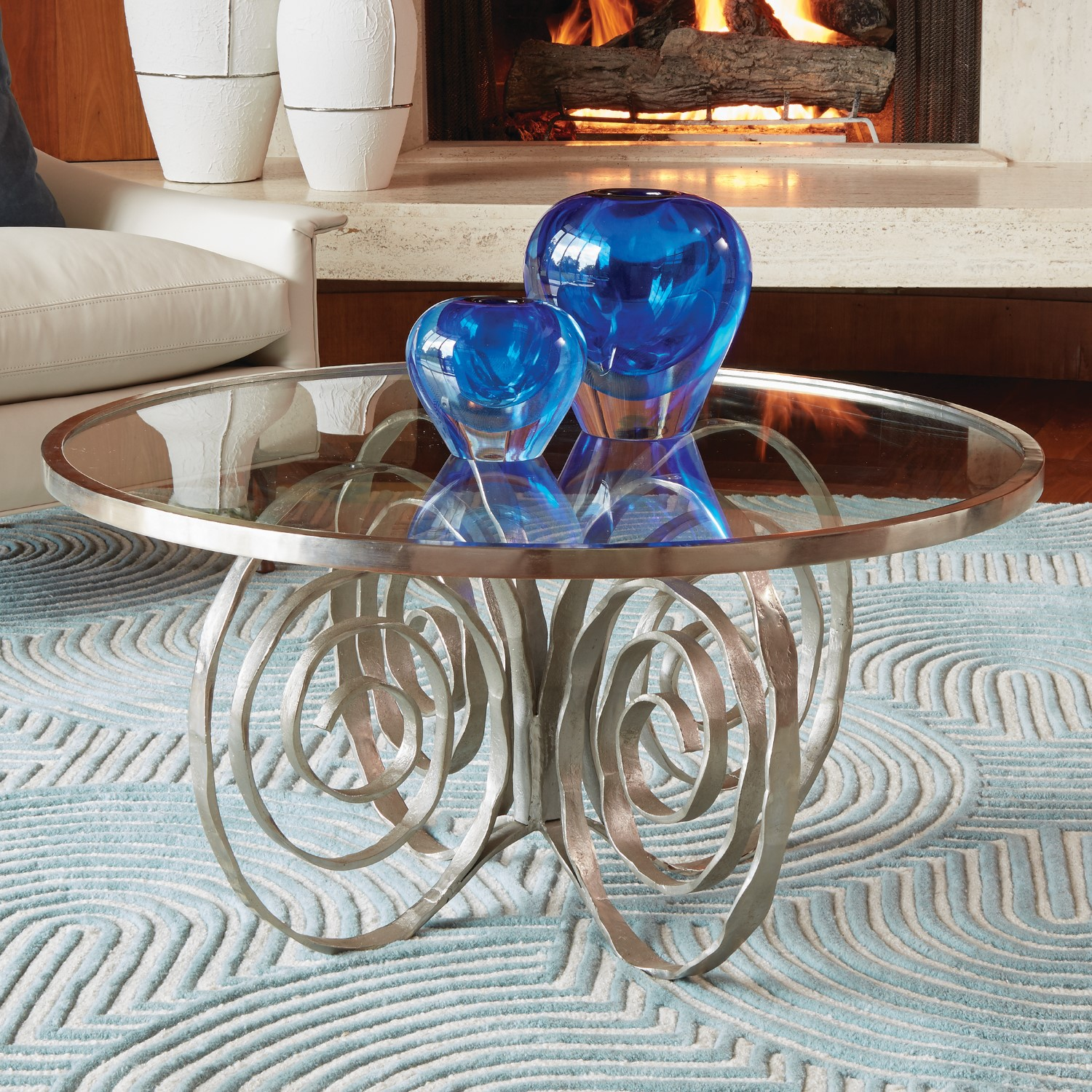 Spirals Cocktail Table-$1,285.00