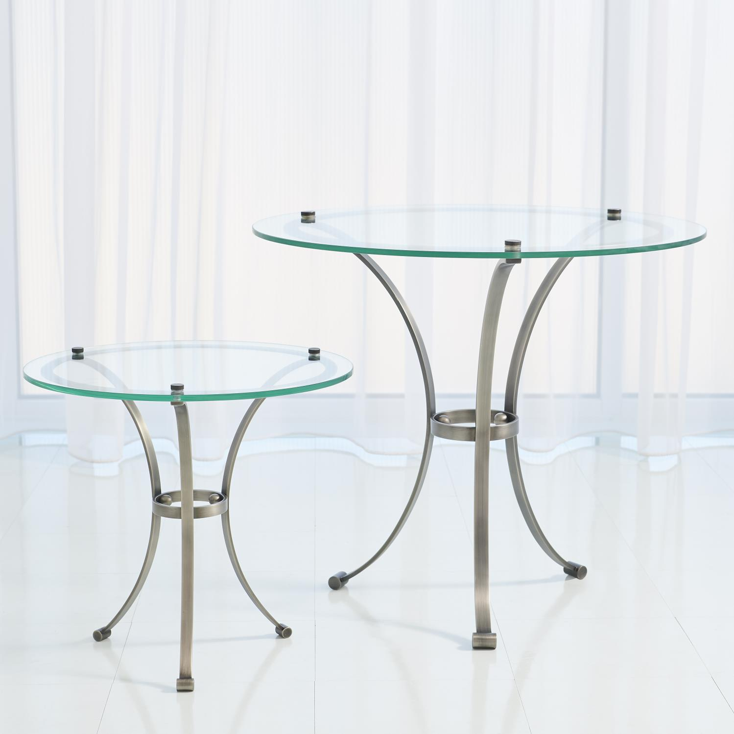 Gunmetal Side Table-Lg. $675.00
