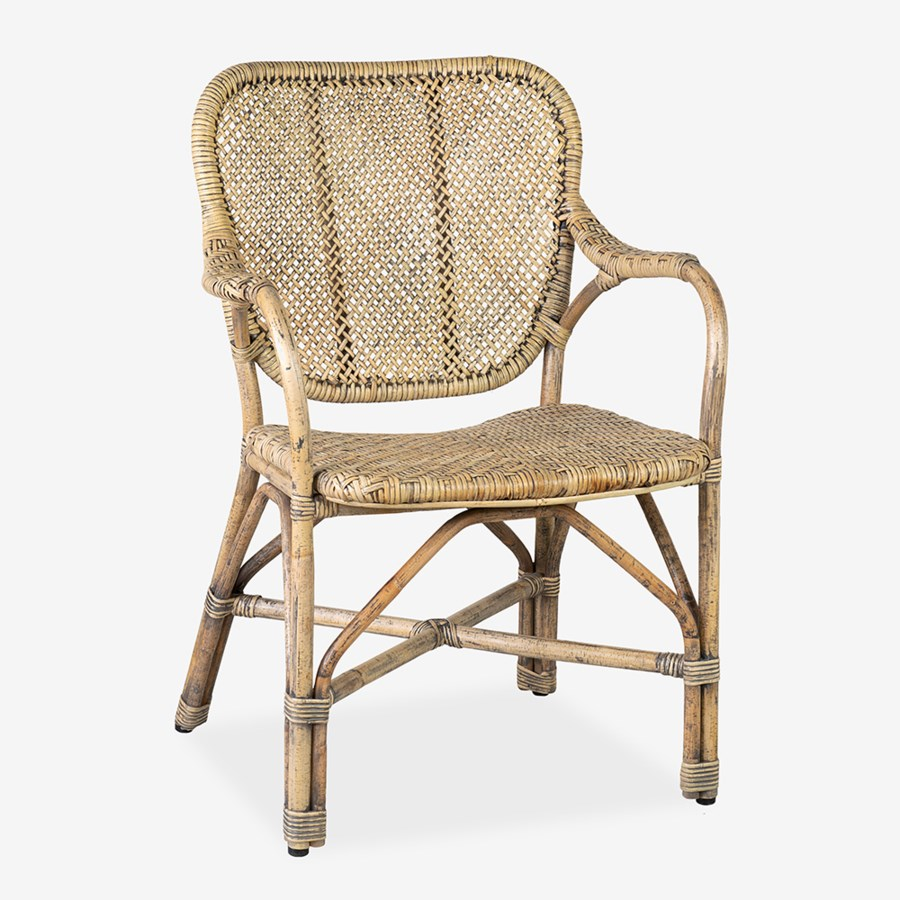 Rattan Arm Chair-$325.00