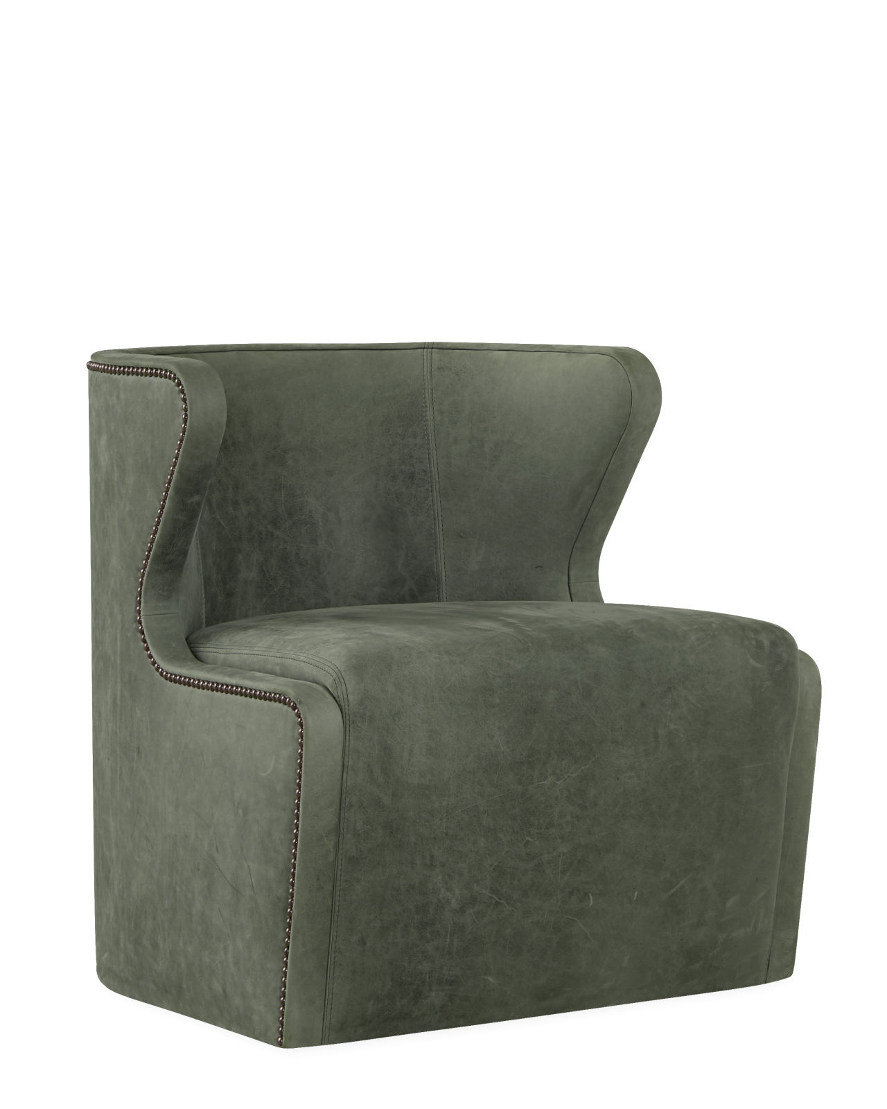 Leather Swivel Chair – $3,485.00