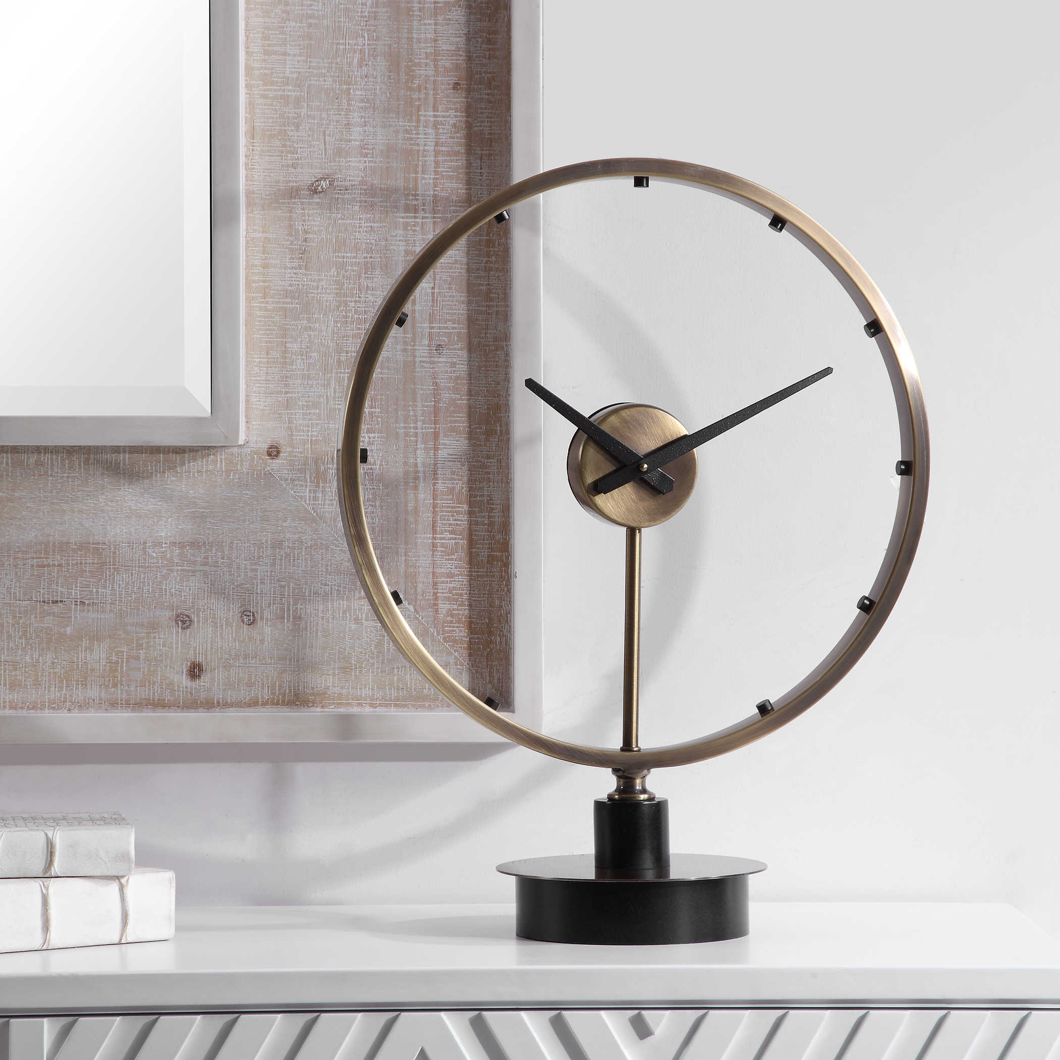 Crockett Table Clock