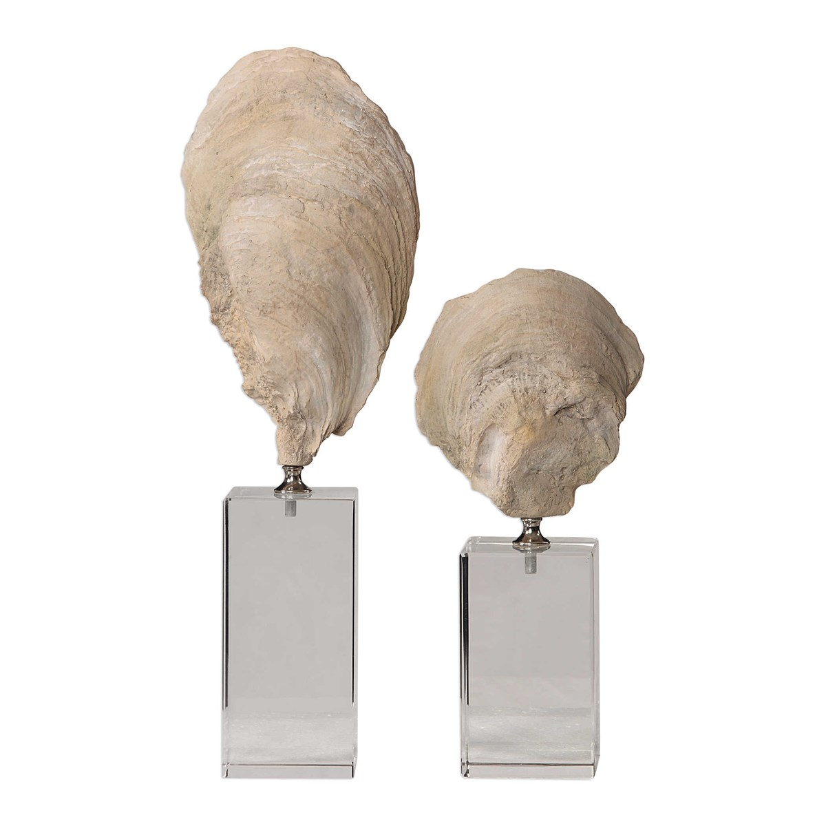 Oyster Shell on Stand-Lg. $120.00 Sm. $92.00