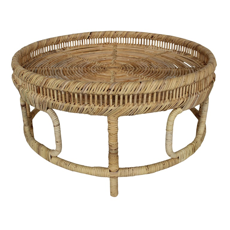 Marella Rattan Round Cocktail Table-$835.00