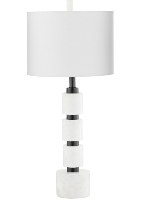 Iron and Marble Lamp-$518.00