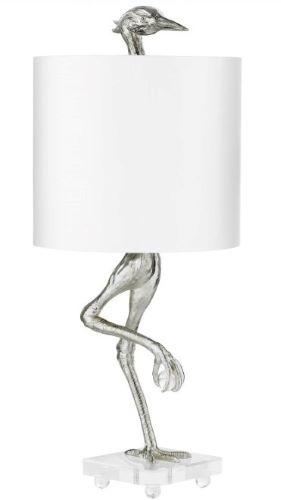Silver Bird Lamp-$684.00