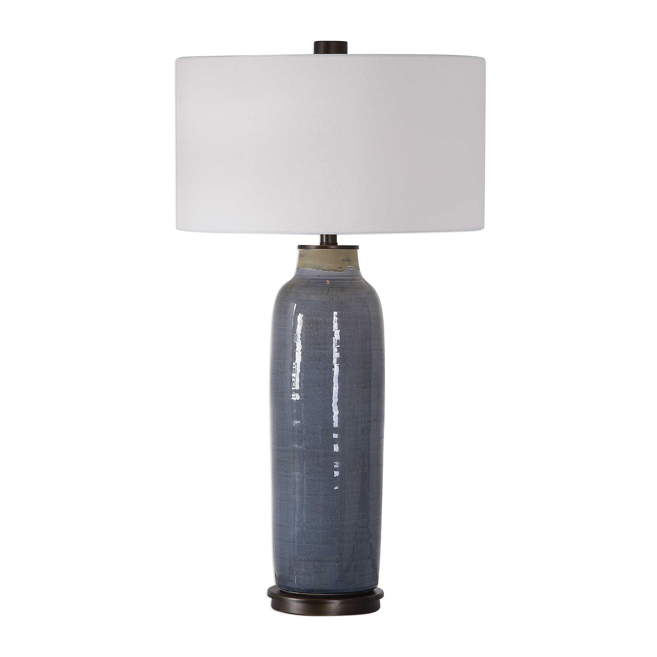 Smoke Blue Tall Lamp-$348.00