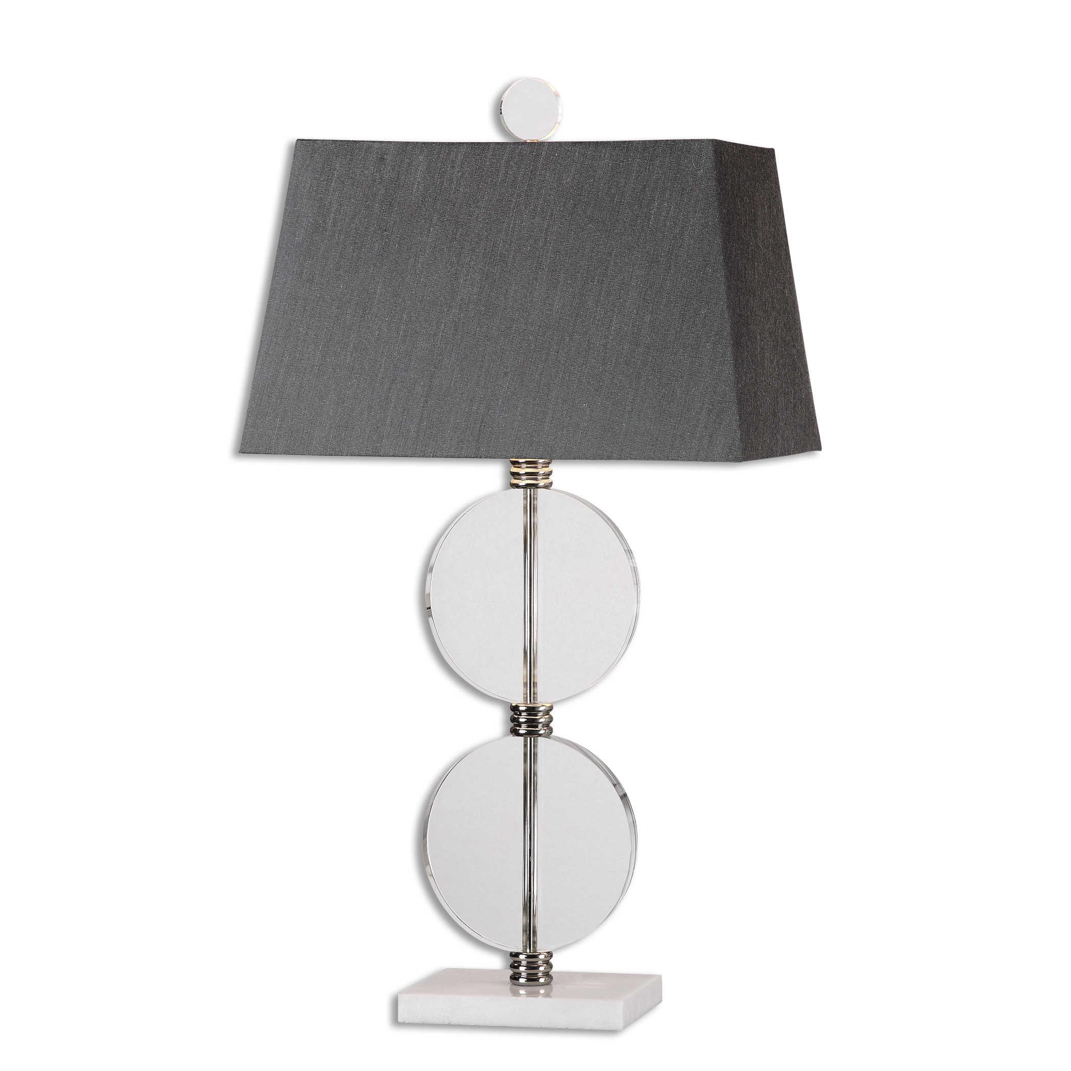 Crystal Disks Lamp-$425.00
