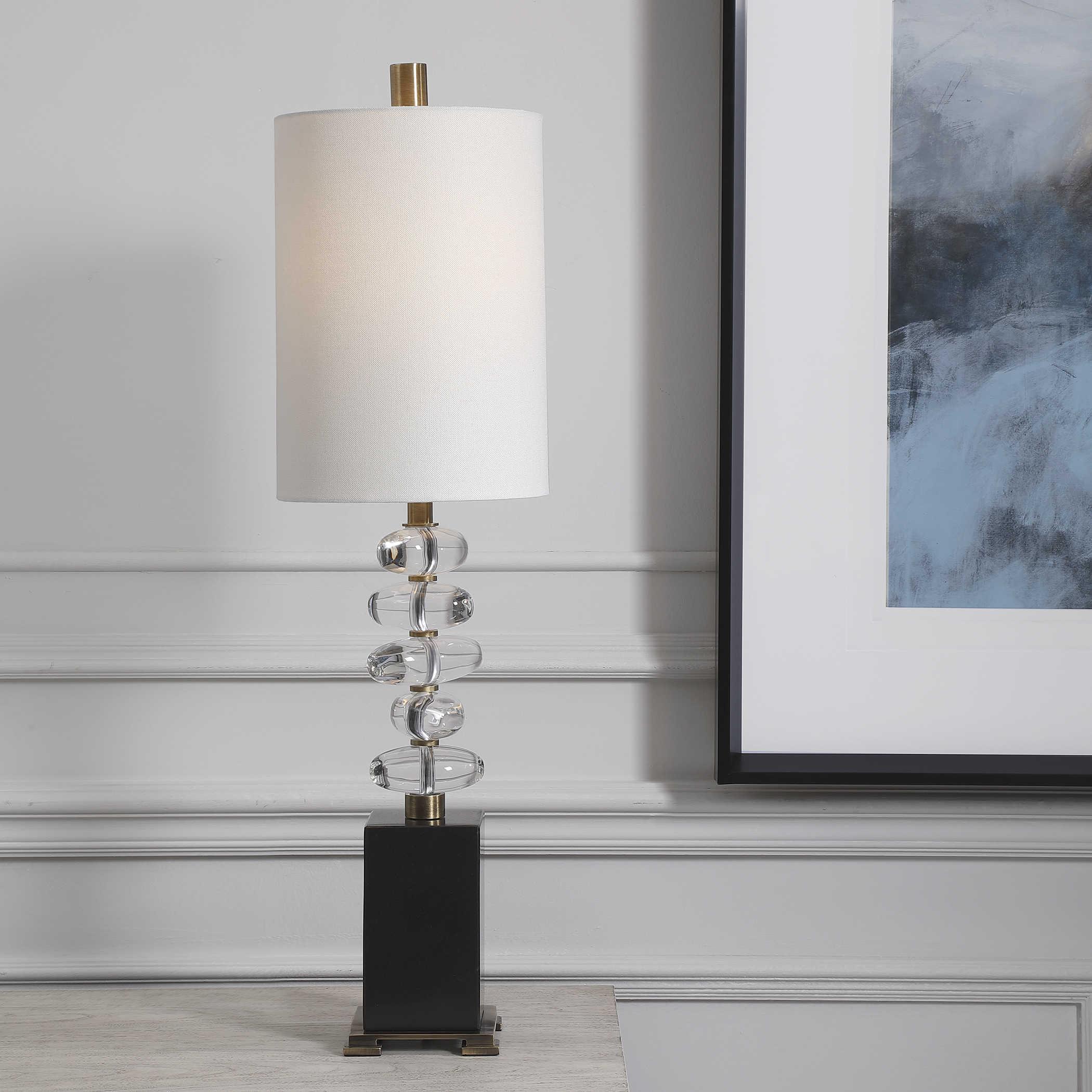 Crystal Egg Lamp-$450.00