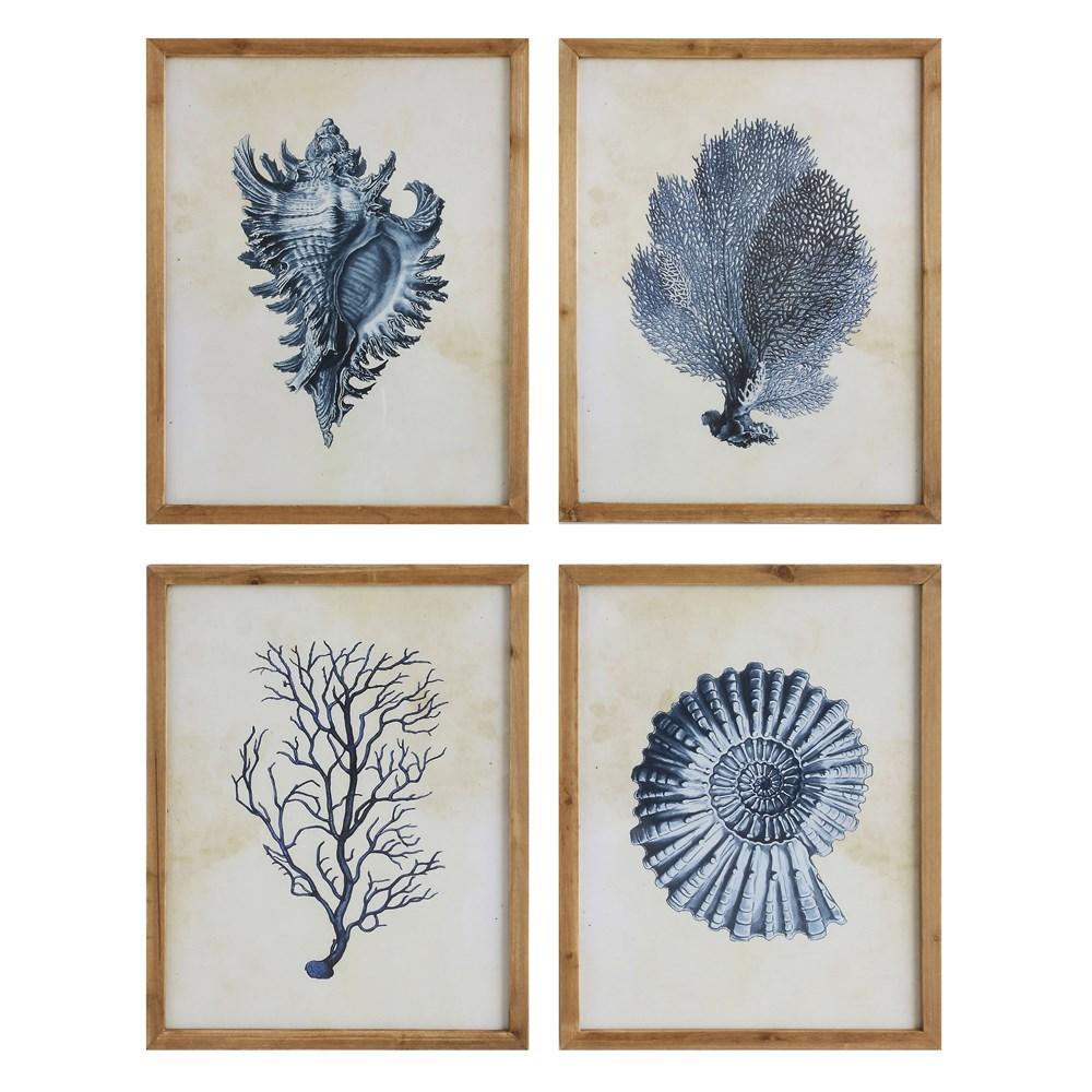 Indigo Shell Prints-$95.00 each