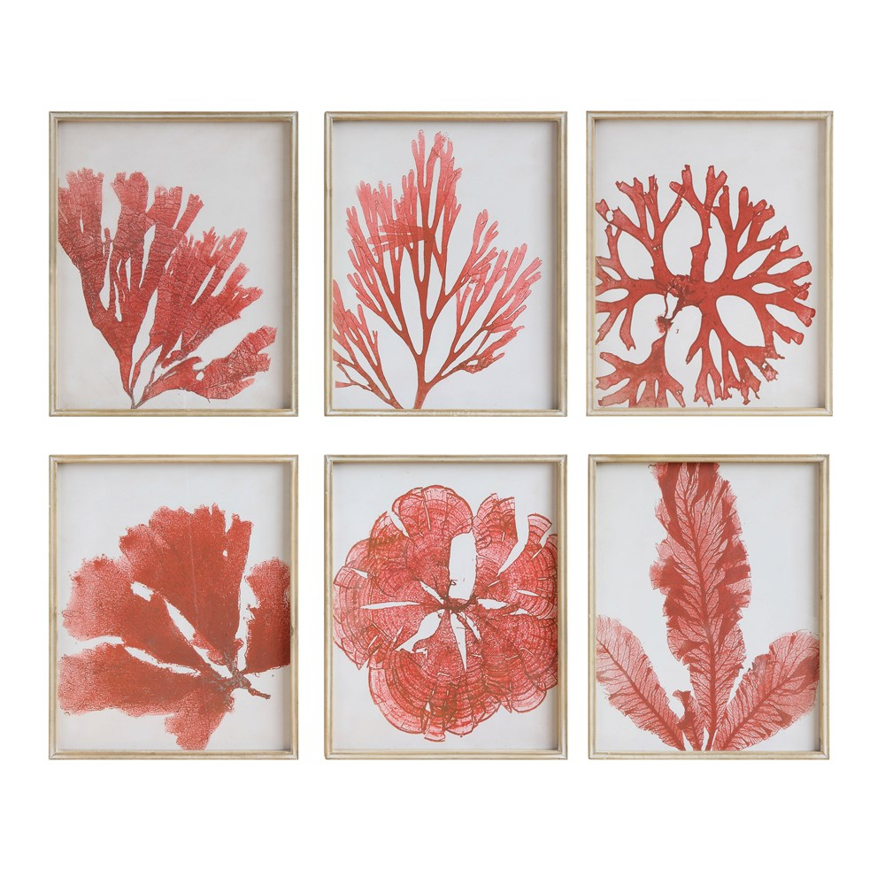Red Coral Prints-$95.00
