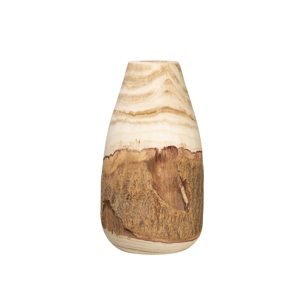 Wood Vase-$38.00