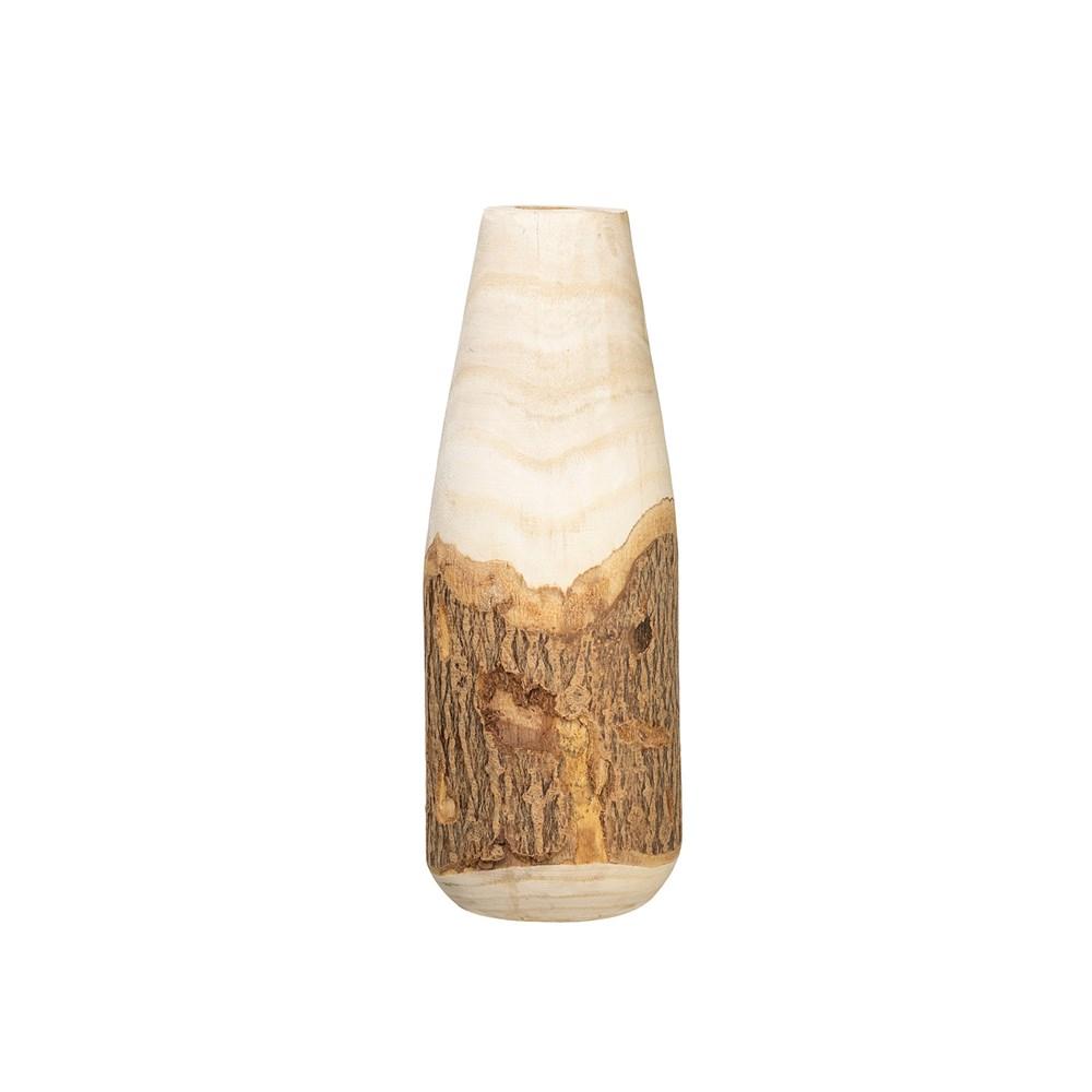 Wood Vase w/ Live Edge-$50.00