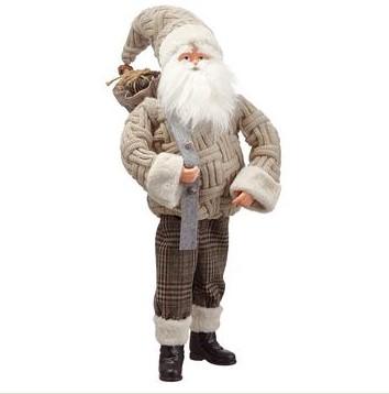 Santa with Gift Bag-$98.00