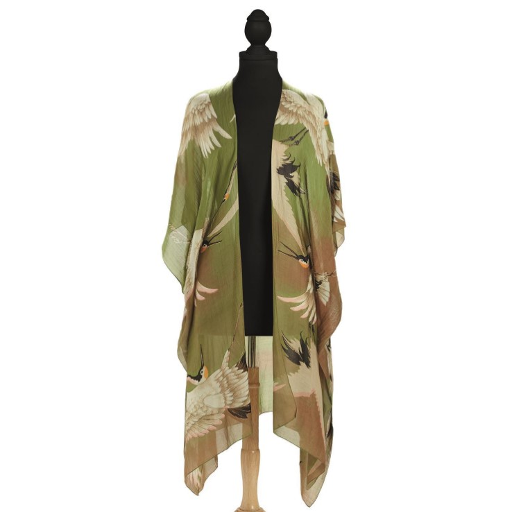 Green Heron Kimonos-$112.00