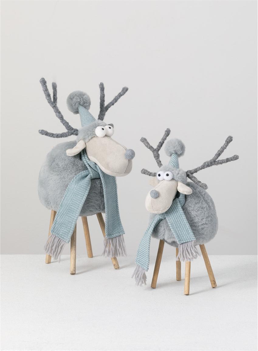 Standing Moose Pair-$70.00