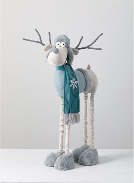 Standing Moose with Telescopic Legs-$98.00