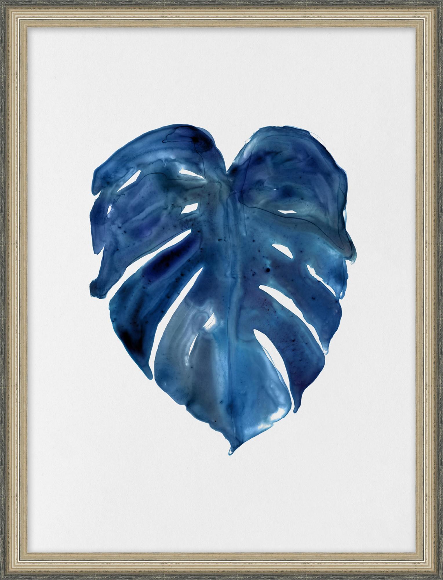 """Blue Frond III""-$225.00"
