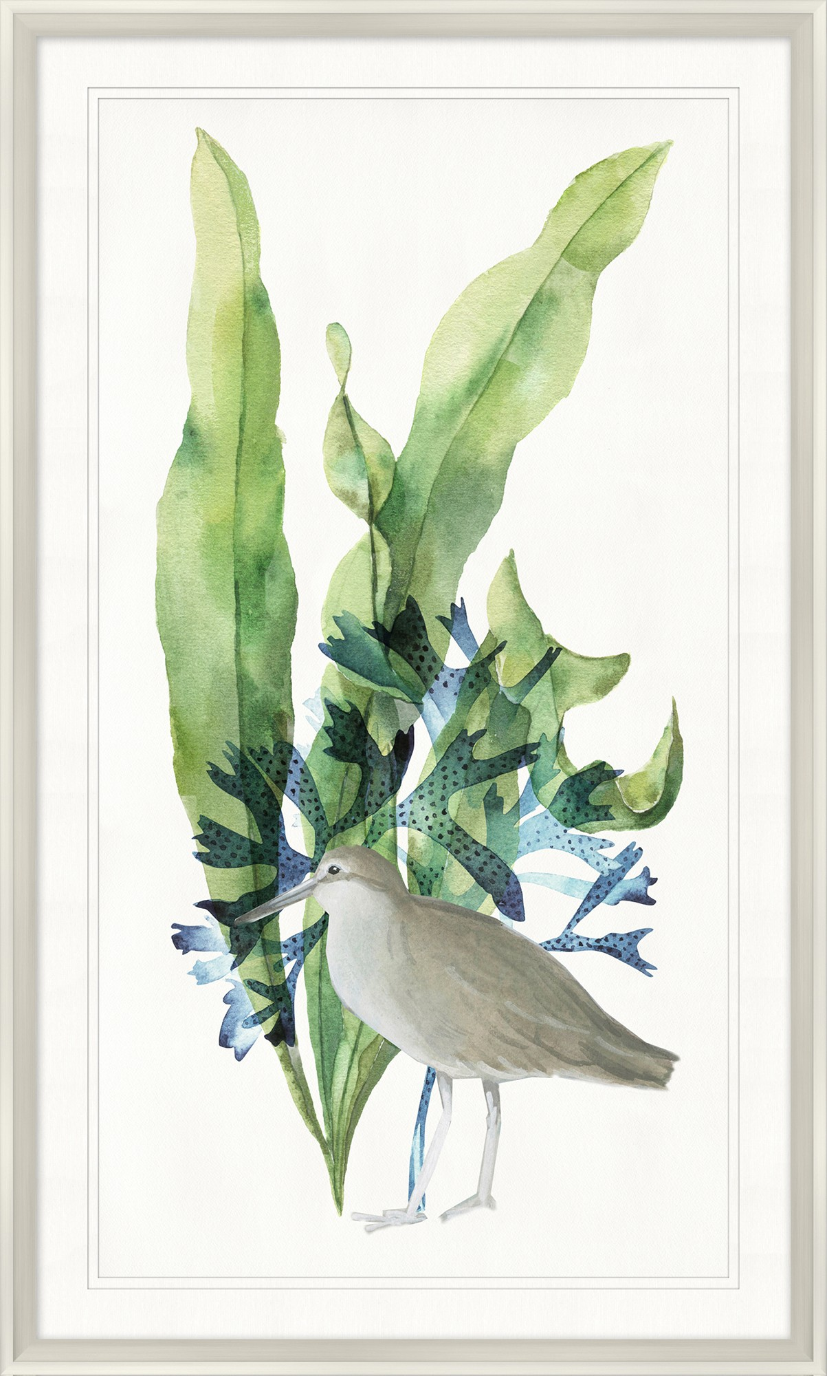 """Bird with Palms I""-$398.00"