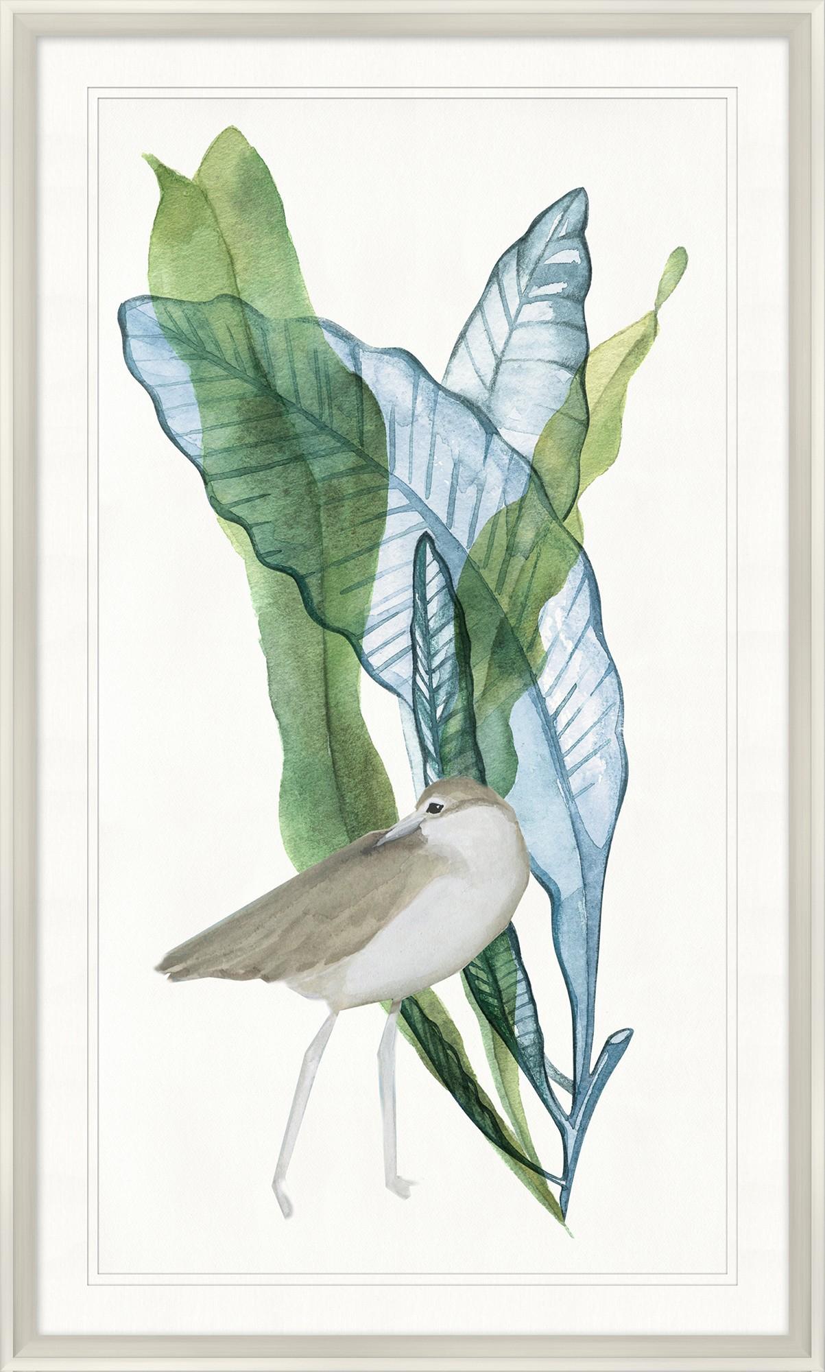 """""""Bird with Palms II""""-$398.00"""