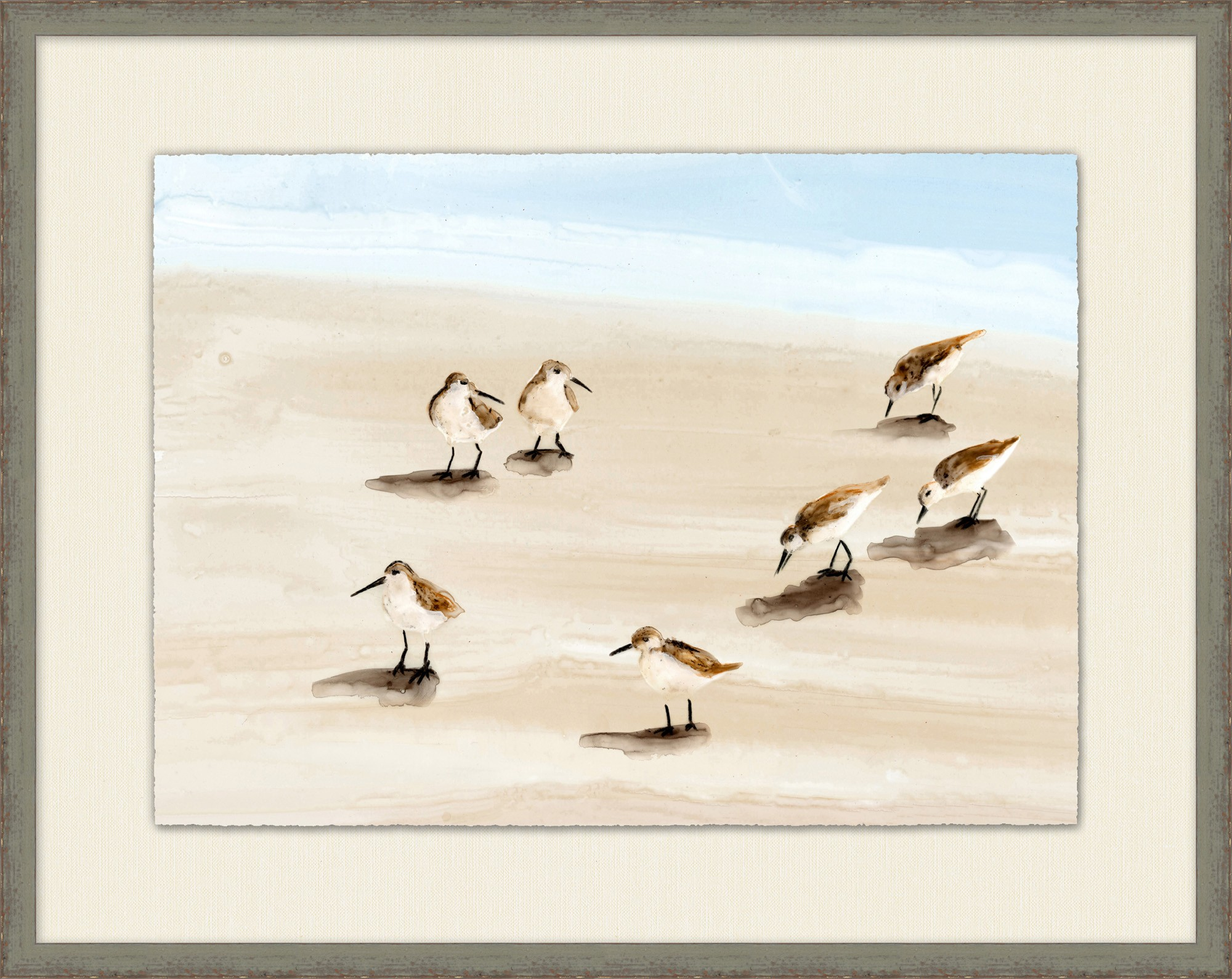 """Sandpipers on Sanibel I""-$475.00"