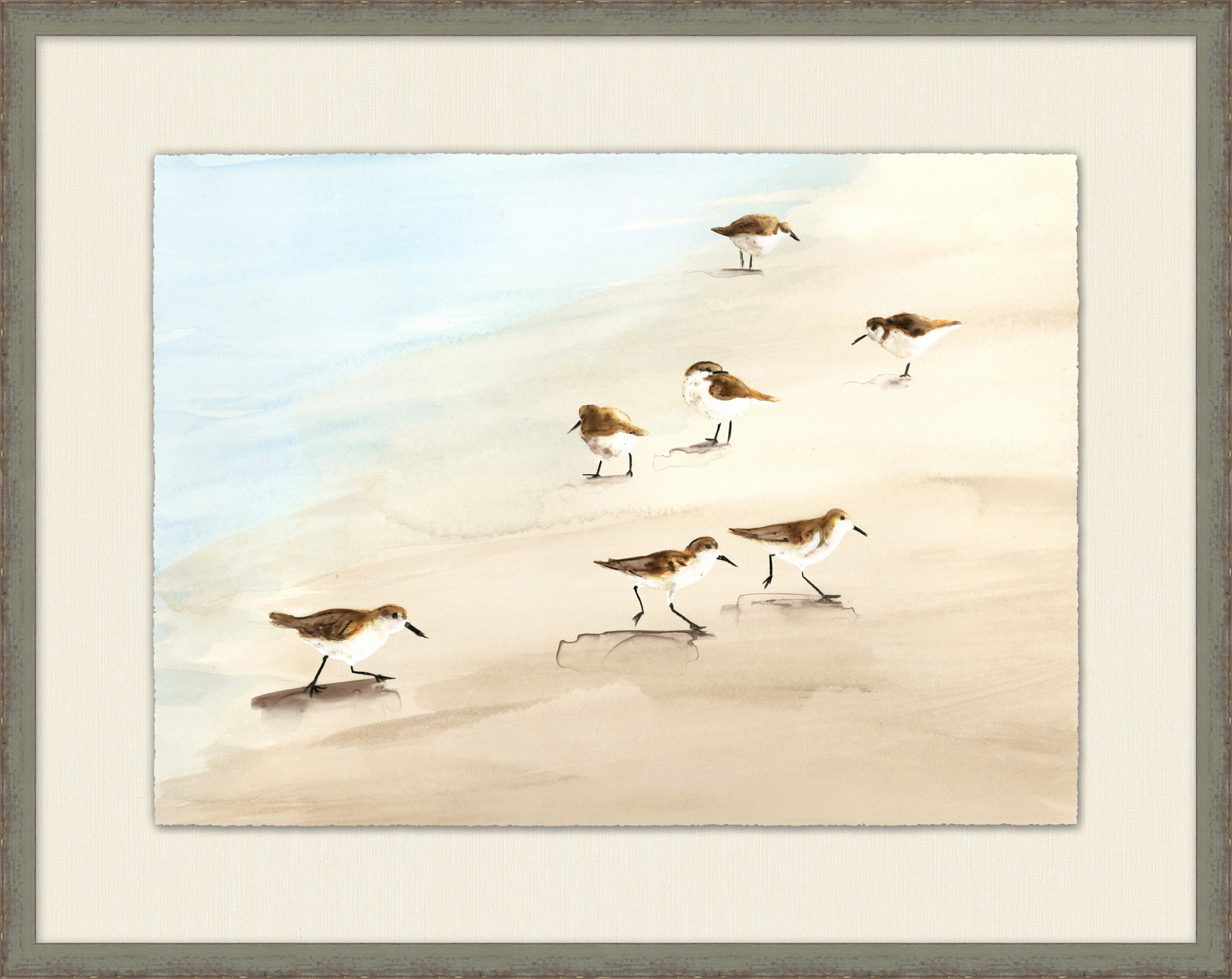 """Sandpipers on Sanibel II""-$475.00"