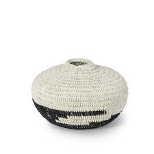 Handwrapped Wide Basket-$168.00