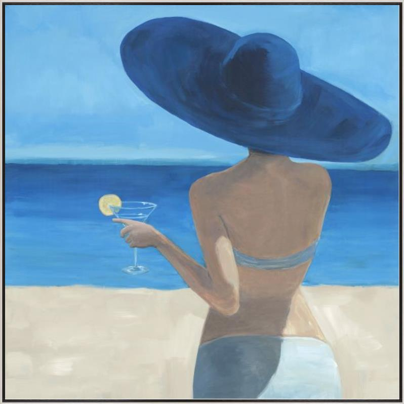 Woman in a Blue Hat-$650.00