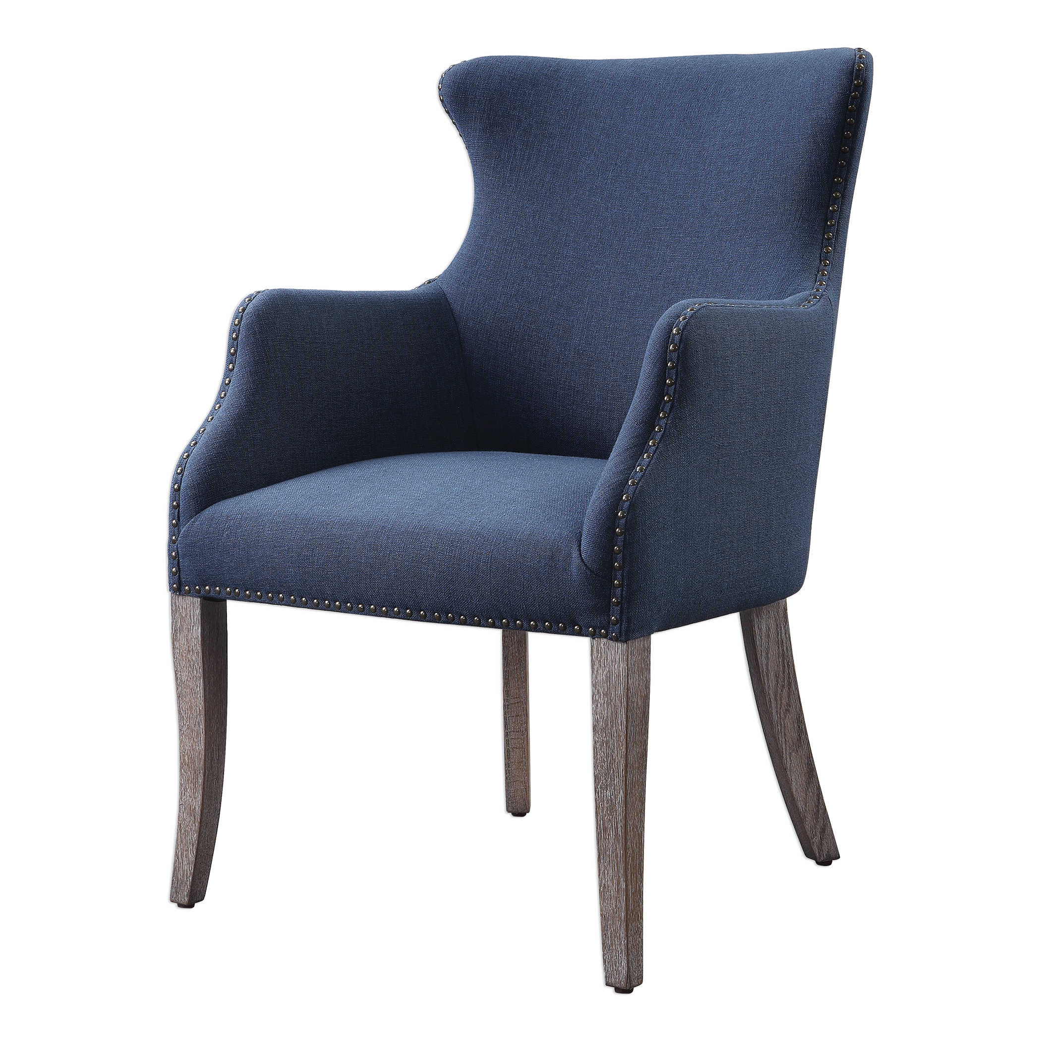 Blue Wing Chair-$925.00