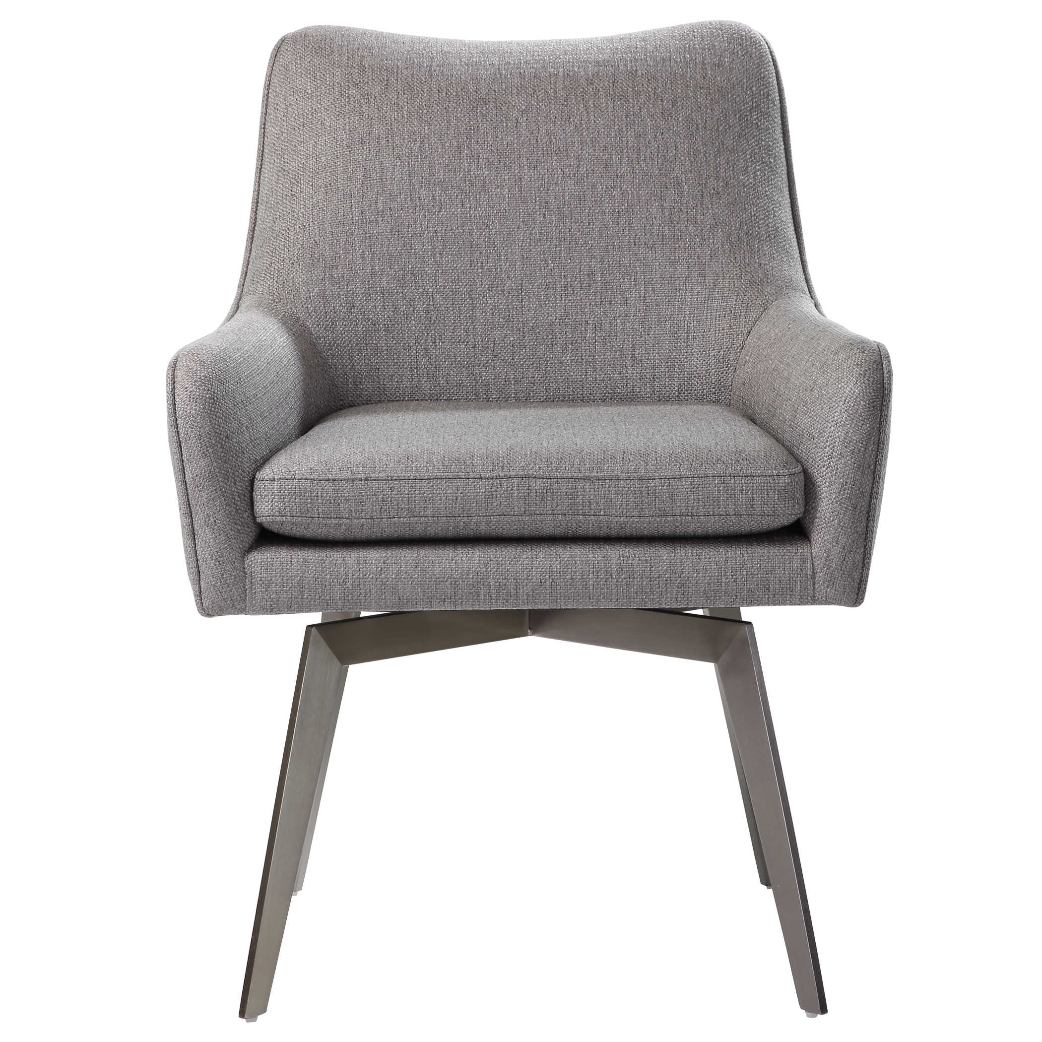 Grey Swivel Chair-$689.00