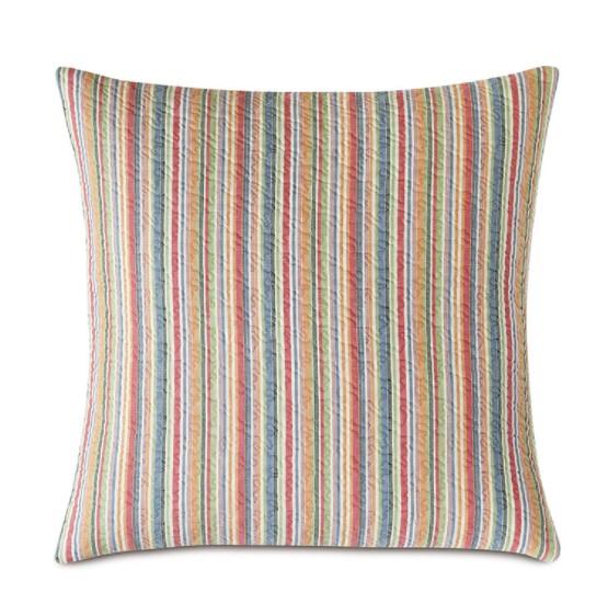 Stripe Matelasse Pillow-$135.00