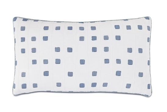 Square Pintuck Pillow-$140.00