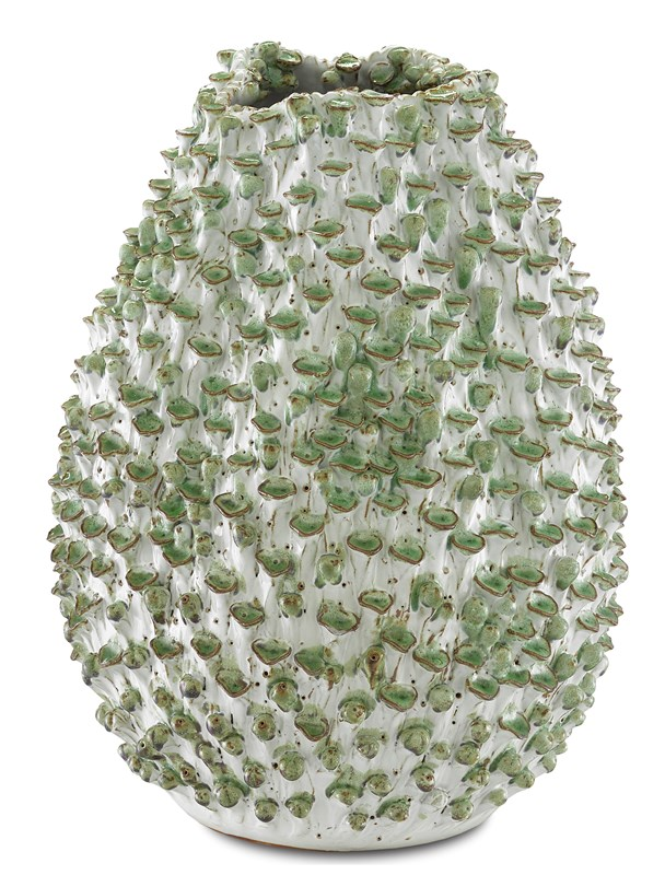 Small Green Urchins Vase-$438.00