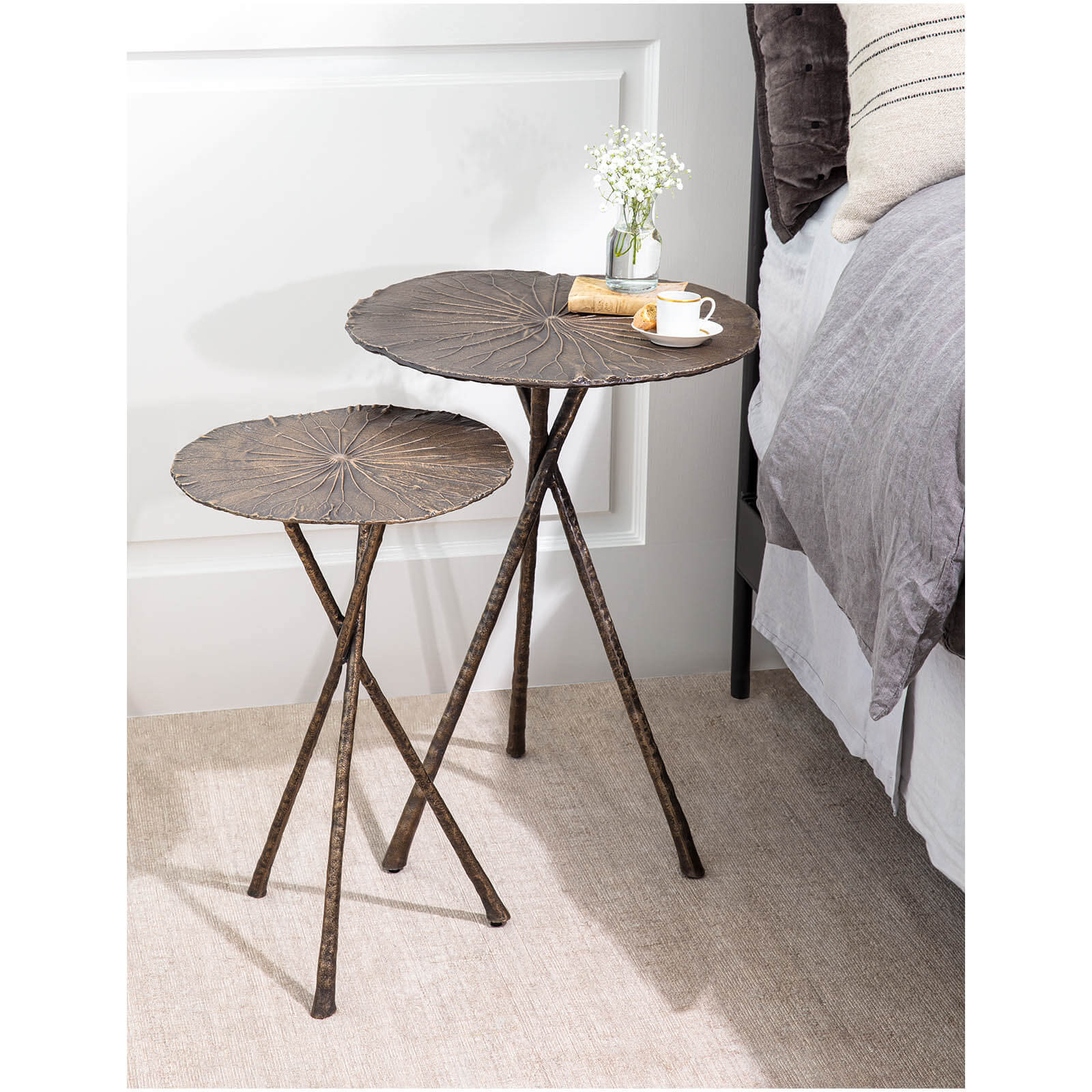 Lotus Side Tables-$348.00